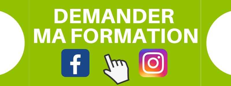 formation facebook instagram pharmacie