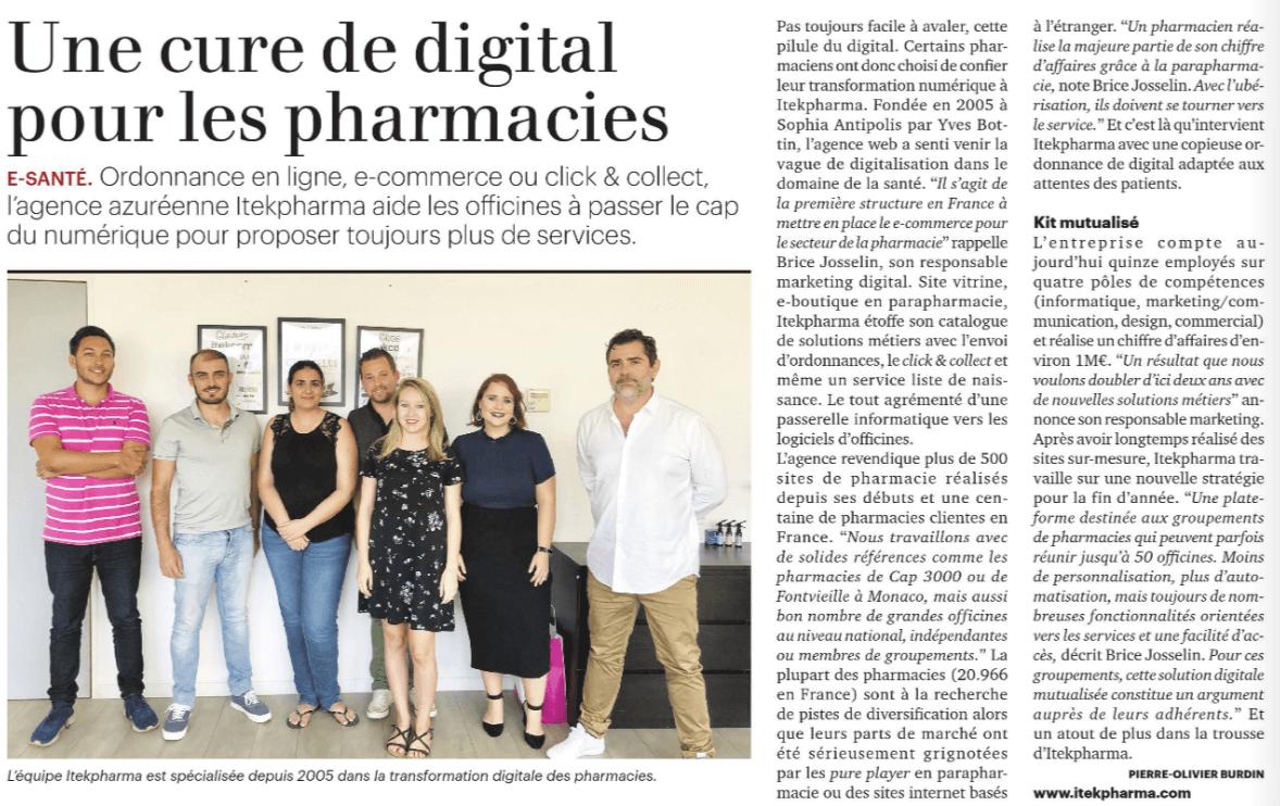 site web pharmacie itekpharma